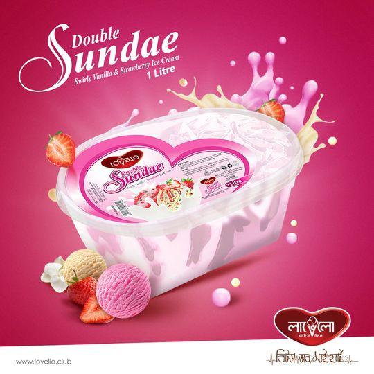 Vanilla Strawberry 1 lt